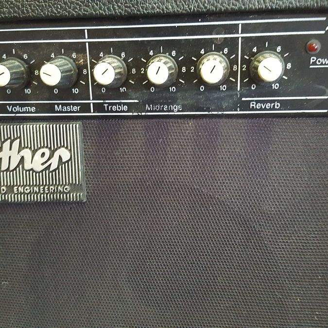 Reuther Gitarrenverstärker R-25, 50 Watt